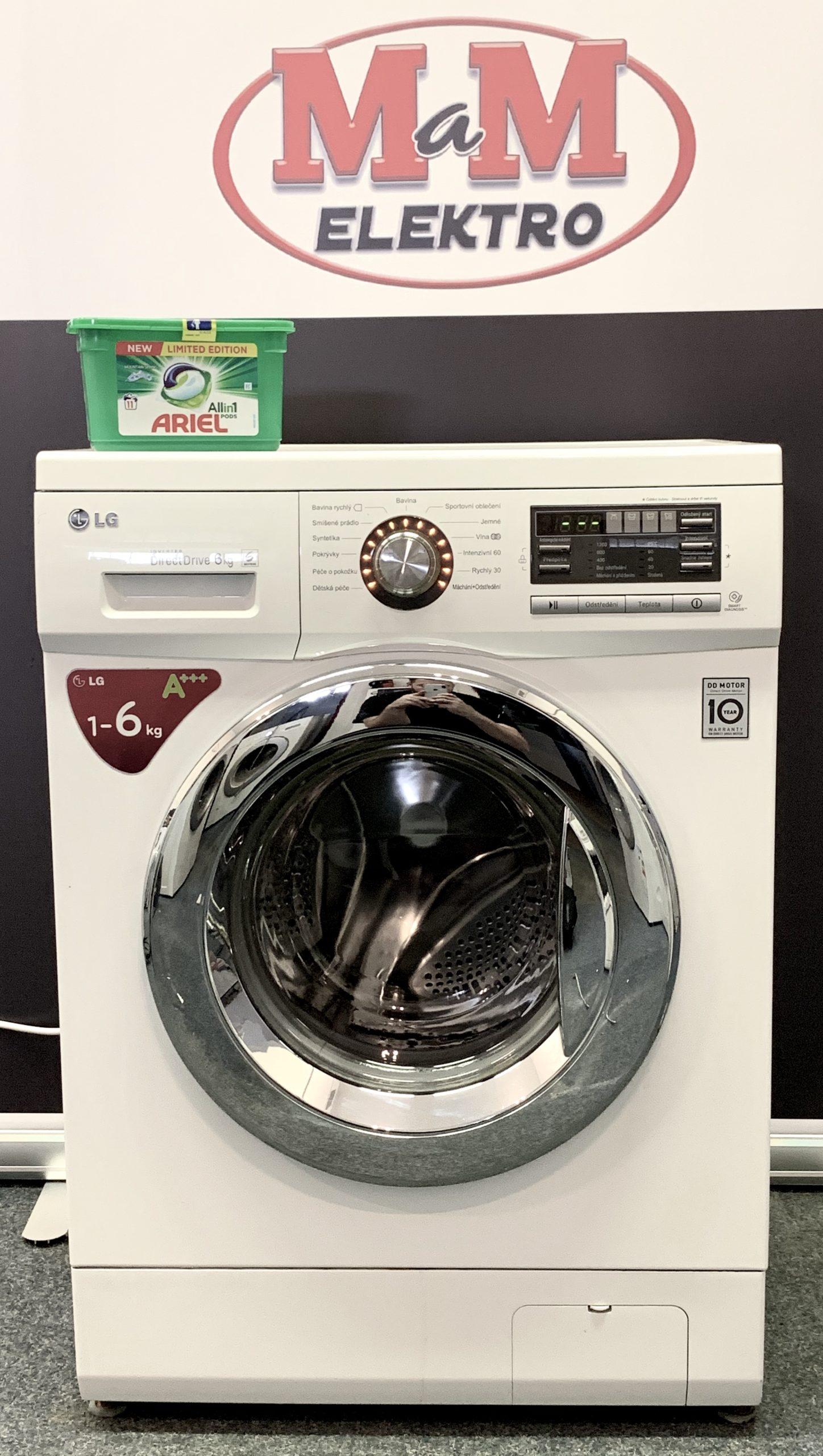 Pračka LG Direct Drive 6 KG – přední plnění