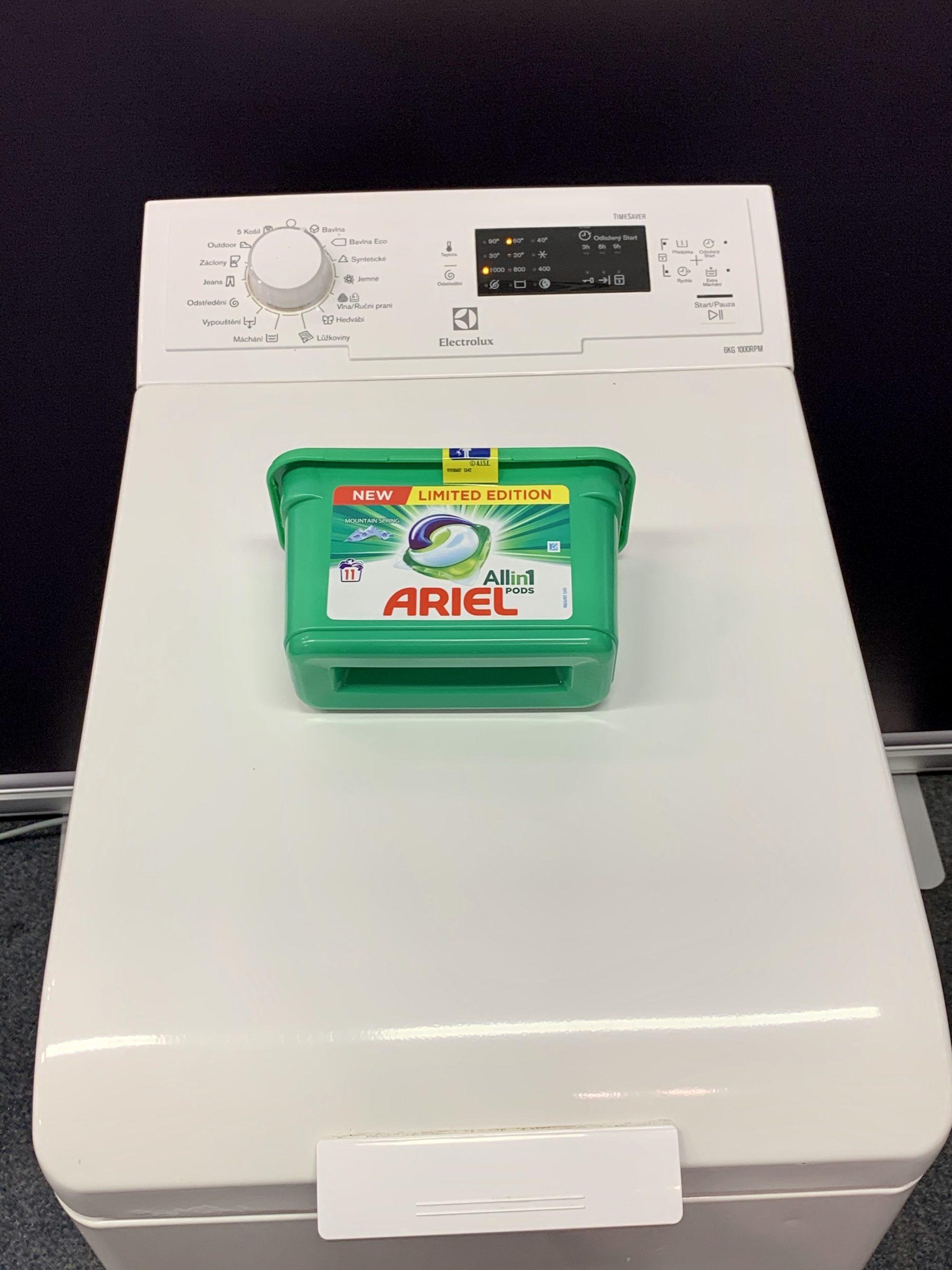 Pračka Electrolux – horní plnění